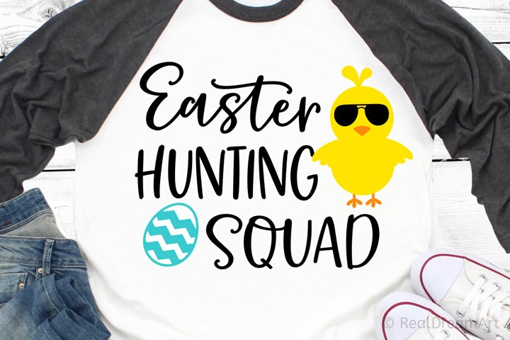 Easter Hunting Squad SVG, DXF, PNG, EPS