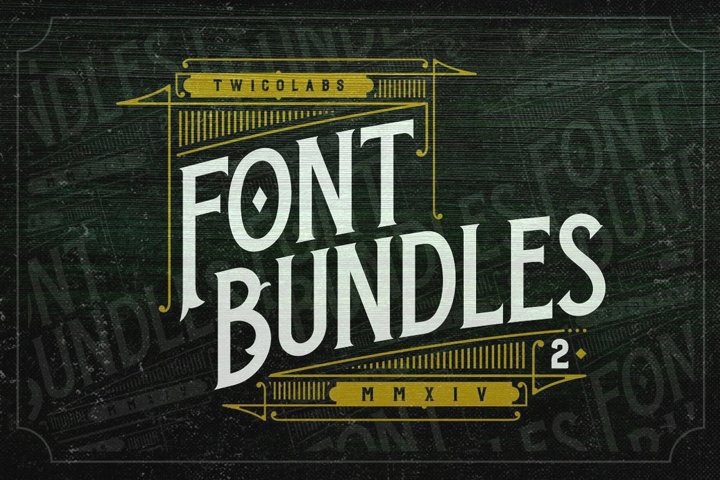 Fontdation Bundles 2