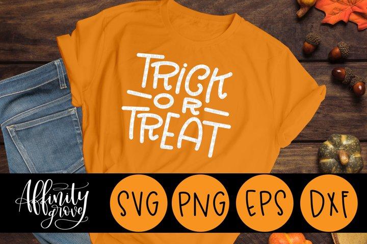 Trick or Treat SVG Cut File for Cricut