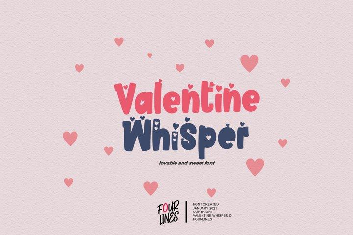 Valentine Whisper