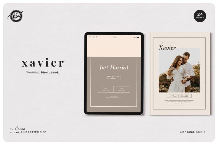 Canva Wedding Photobook | Xavier