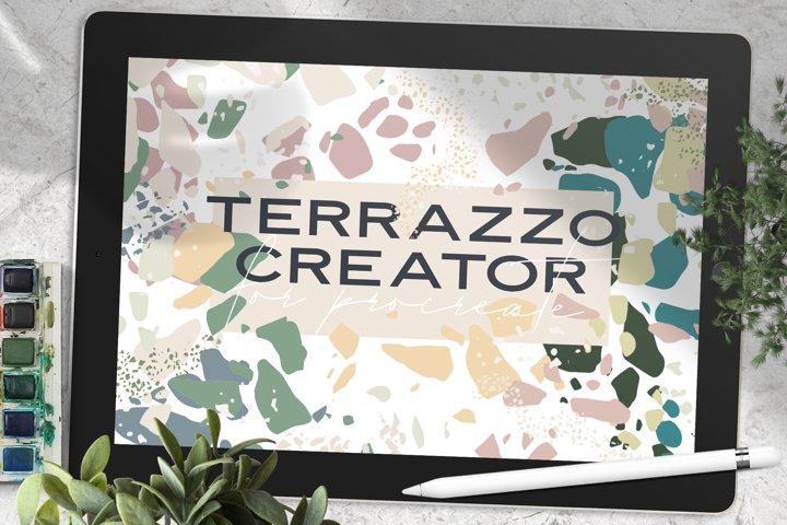 Terrazzo Creator for Procreate