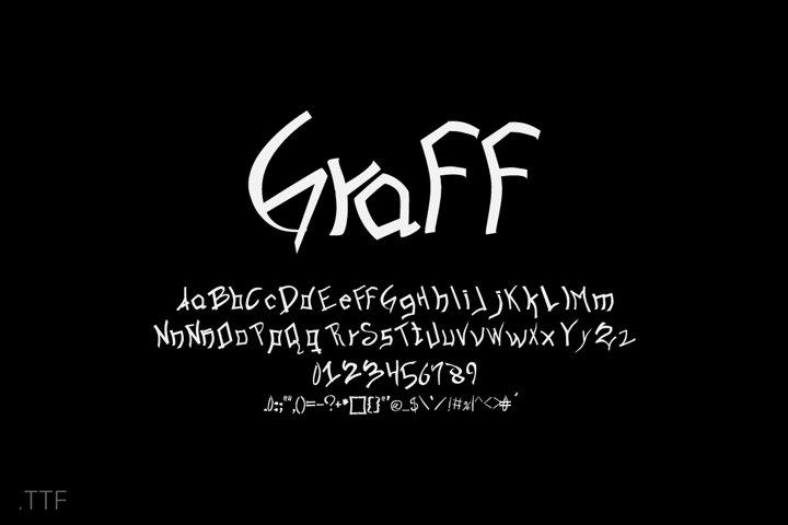 Graff | Font