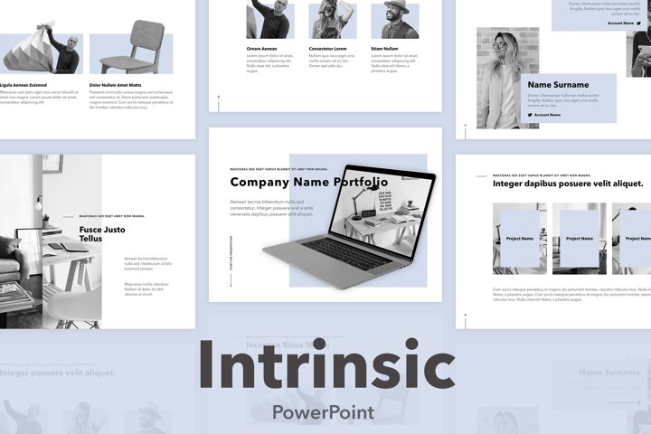 Intrinsic PowerPoint Template