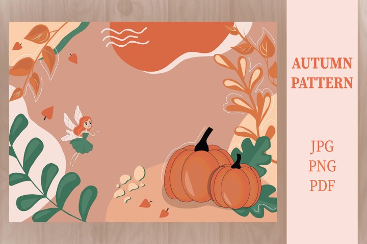 AUTUMN CARD | MAGICAL HALLOWEEN