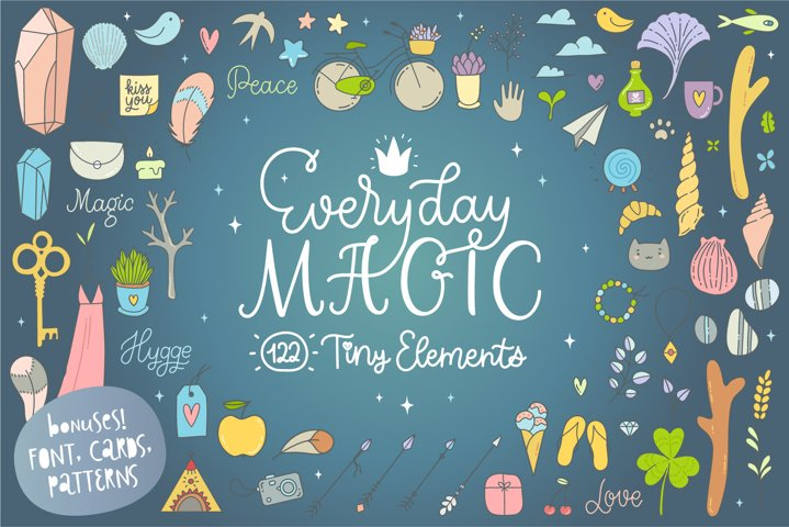 Everyday Magic Vectors and BONUSES