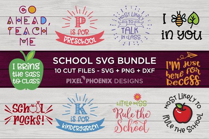School SVG BundleBack to school SVG