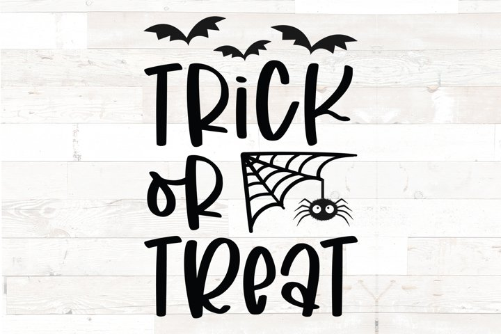 Trick or Treat- Halloween sign decal