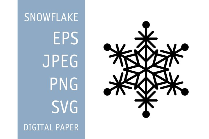 Snowflake SVG. Snowflake PNG. Vector Snowflake. Snow pattern