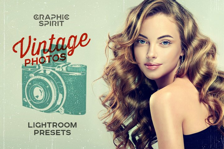 Vintage Photos Lightroom Presets Set example