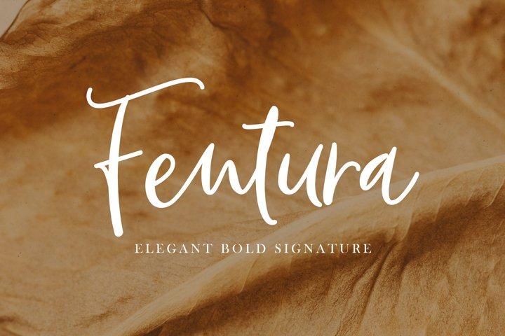 Fentura | Bold Signature