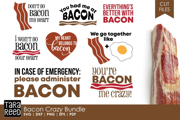 Bacon Crazy Bundle - Free Design of The Week
