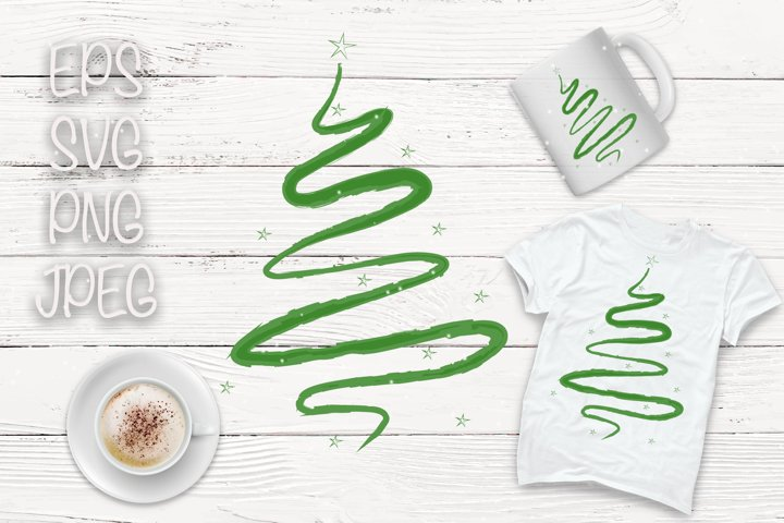 Sublimation Christmas Tree