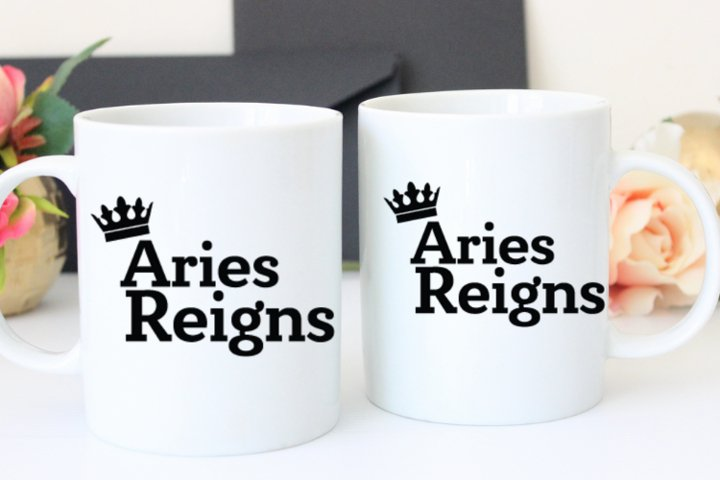 Aries Reigns Svg, Instant Download