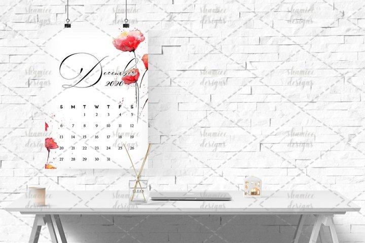 2020 Peony Calendar