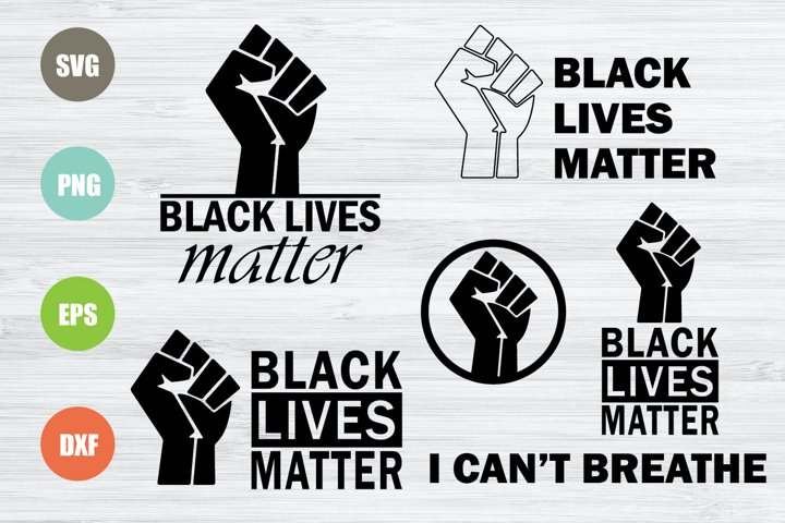 Black Lives Matter SVG Bundle