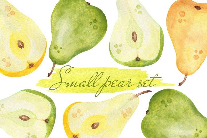 Small pear set