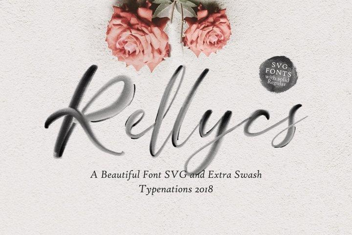Rellycs OpenType SVG