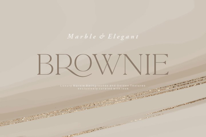 Gold & Bronze Marble Collection