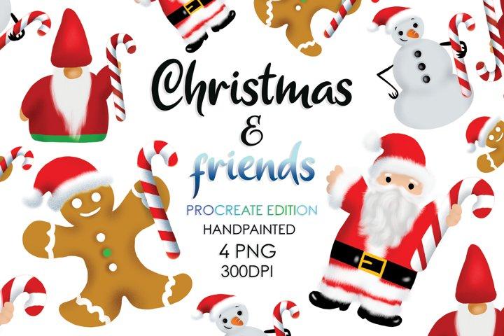 Christmas Bundle, Christmas Sublimation, Santa, Snowman