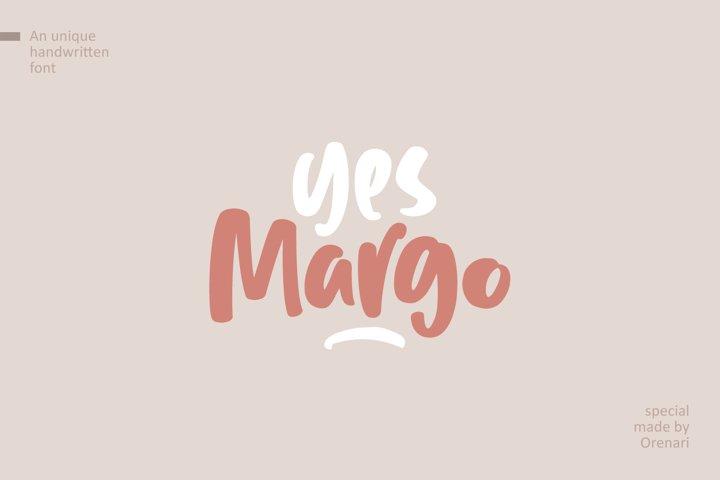 Yes Margo