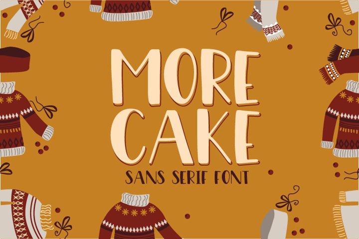 More Cake Font
