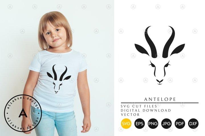 Antelope Springbok | Cute Animal SVG
