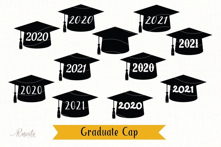 Graduate Cap 2020 Svg Cut file
