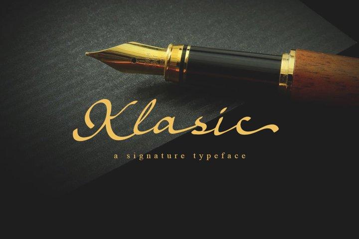 Klasic Signature Script