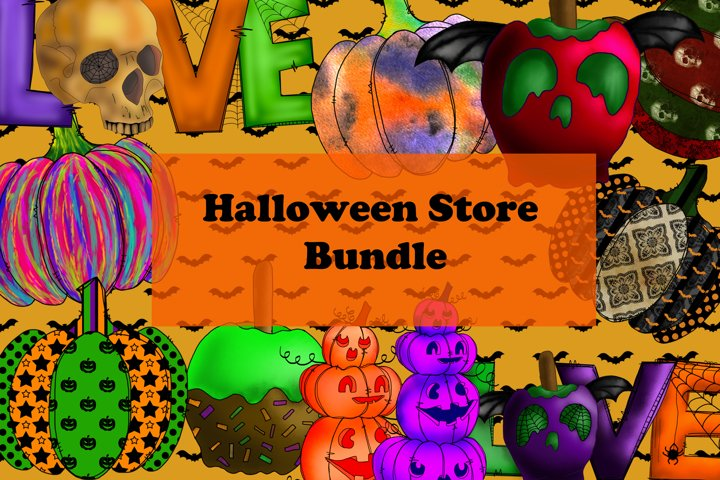 Halloween Store bundle