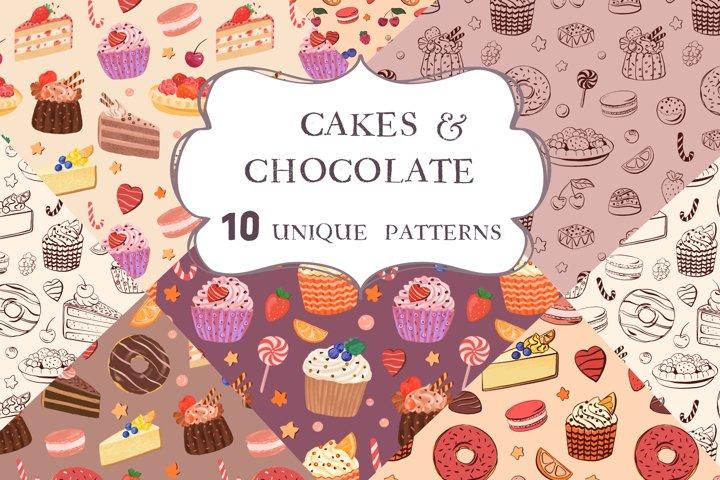 Cakes & Chocolate Patterns