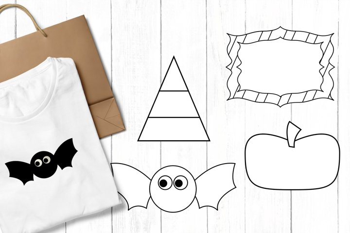 Halloween clip art graphics and illustrations example 2