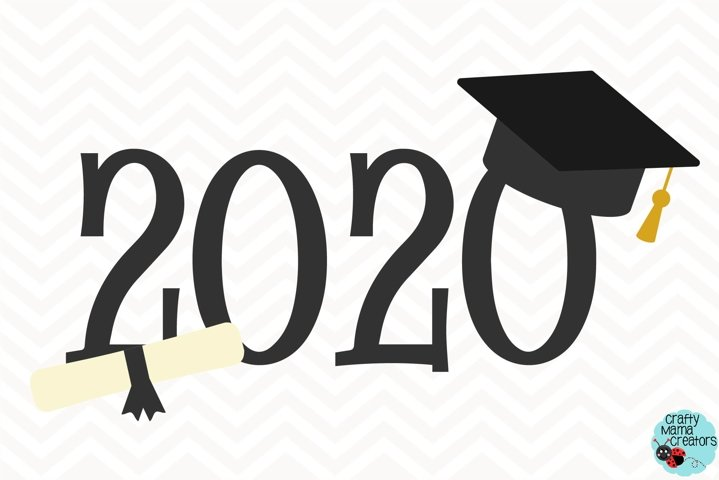 Senior 2020 SVG, Graduation, Senior Class, Graduating Class