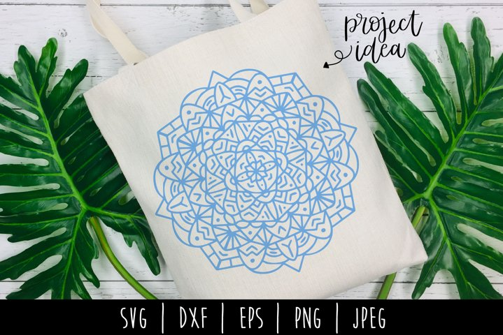 Mandala Mini Bundle Set of 6- SVG example 9