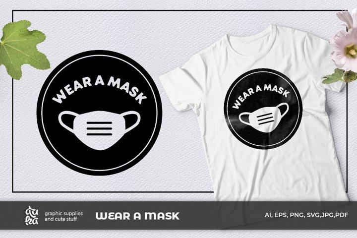 Wear a mask SVG