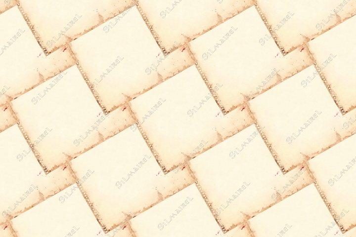 Vintage retro paper sheet grunge seamless pattern background