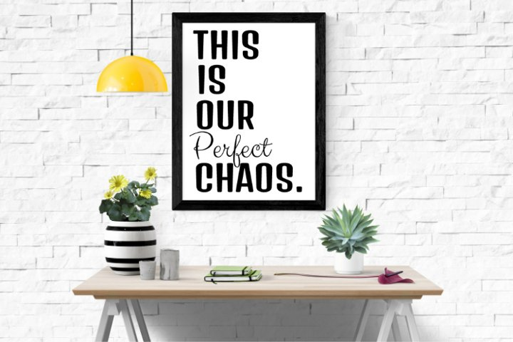 This is our perfect chaos
