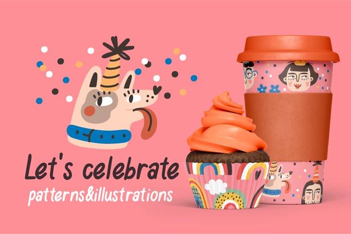 Lets celebrate | patterns & objects