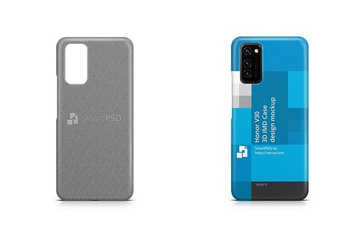 Honor V30 2019 3d IMD Case Design Mockup