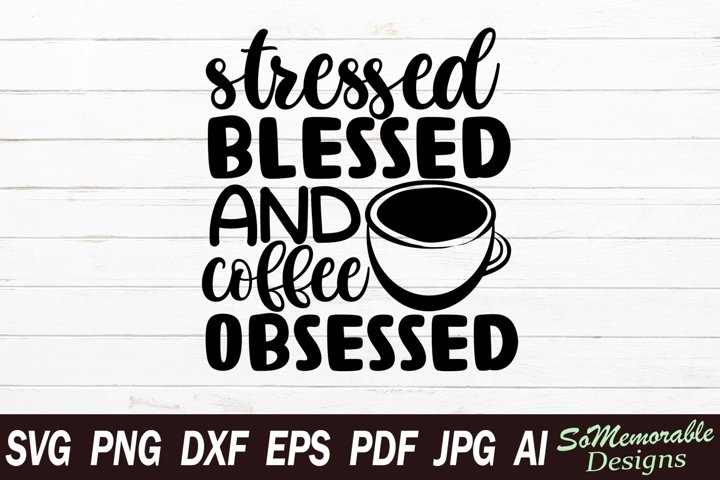 Coffee SVG cut file, Coffee svg design