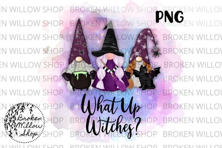 What Up Witches? Sublimation PNG File