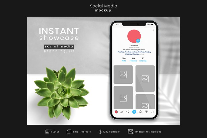 Social Media Branding Mockup for Instagram/App mockups 10
