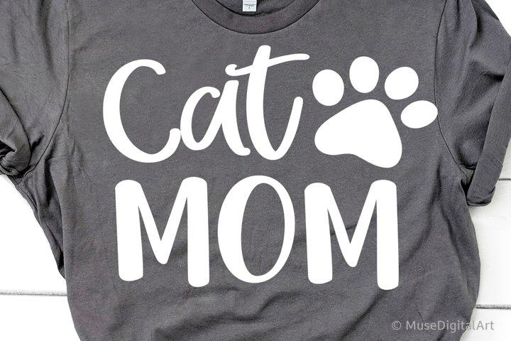 Cat Mom Svg, Cat Owner Svg, Cat Vibes Svg, Funny Svg Fur Mom