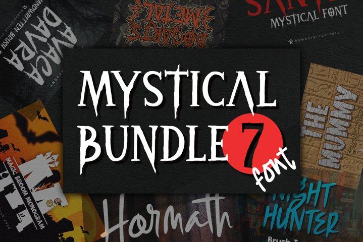 Mystical Bundle 7 Font