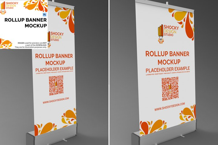 Rollup Banner Mockup
