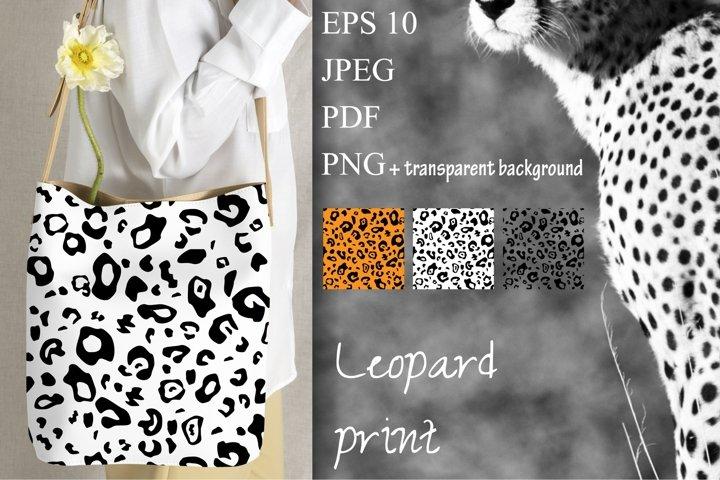 Leopard pattern. Leopard Digital Paper