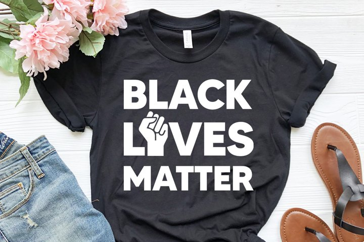 Black lives matter svg, dxf, clipart, vector