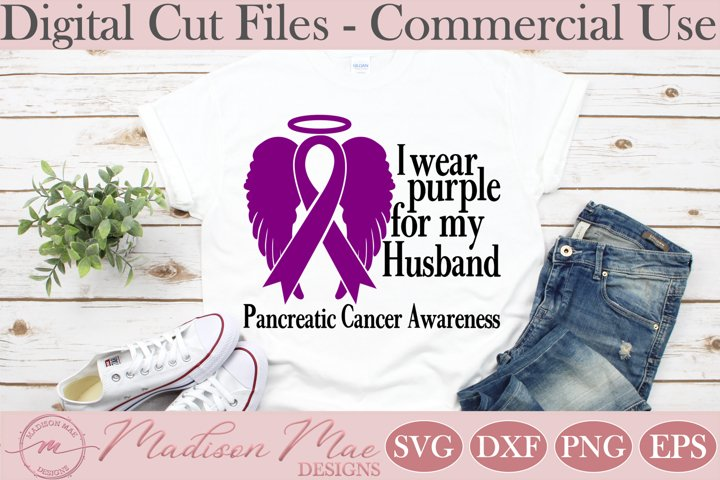 Pancreatic Cancer Awareness, I Wear Purple For My Husband