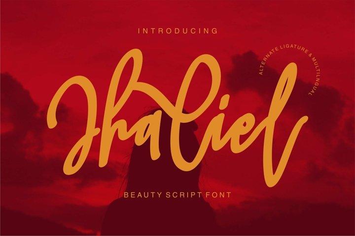 Jhaliel - Beauty Script Font