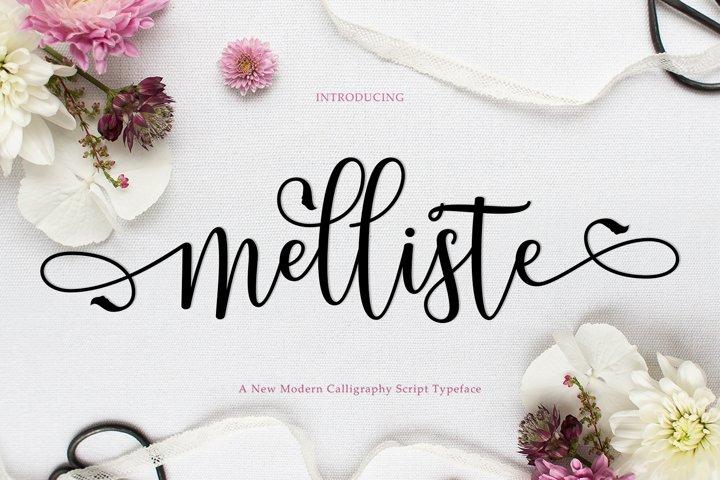 Melliste Script | A Font Love Story
